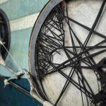 Image if artist Katharina Meister's work, metal looking weels
