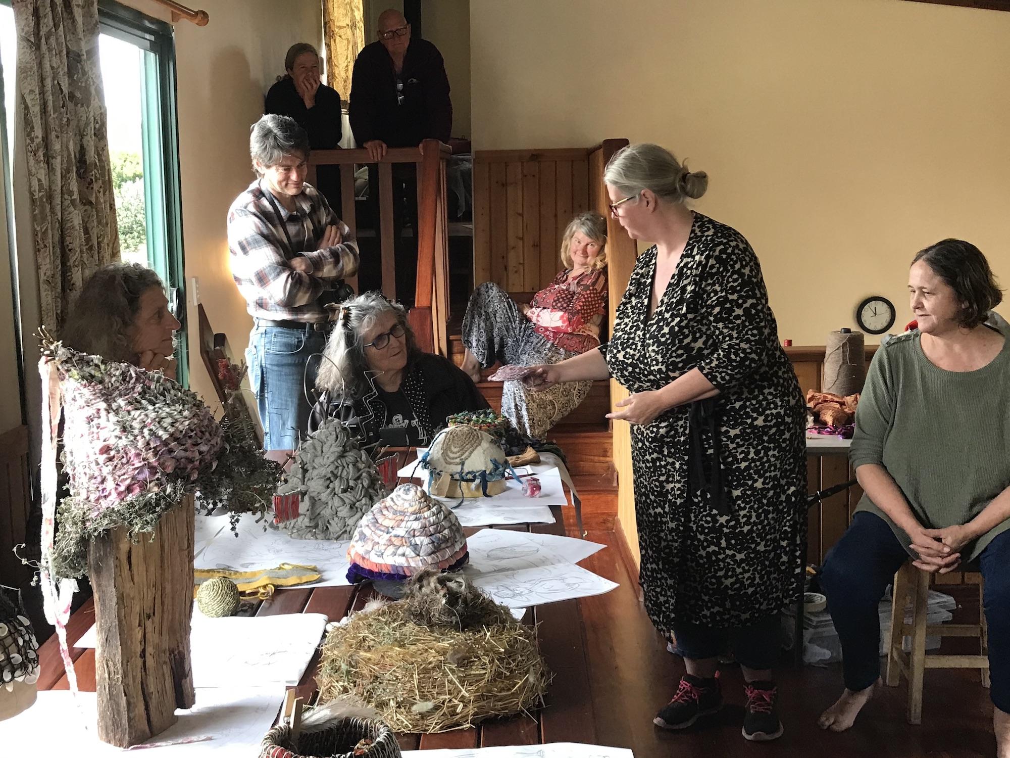 Previous Nalda Searles workshop group